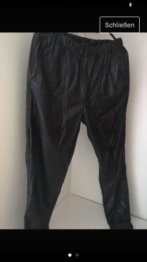 obey Harem Pants black