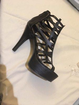 Leder High Heels
