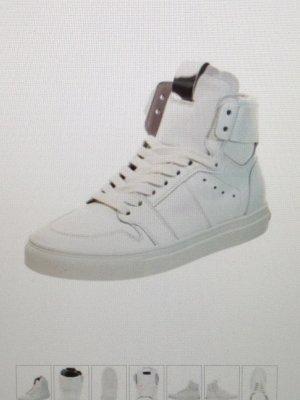 Leder High Top Sneaker