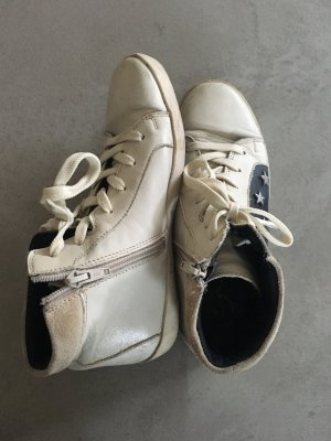 Leder High Top Sneaker // Zign