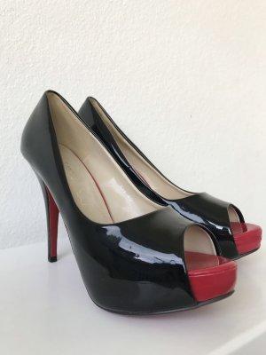 5th Avenue Tacones altos negro-rojo