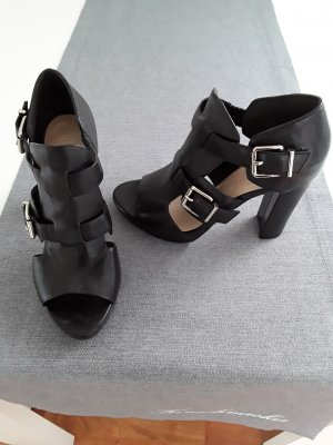 Hallhuber Chaussure à talons carrés noir
