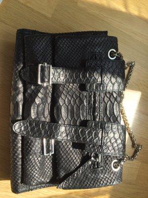 Leder Iro Sabia Bag mit Silber-tone Hardware