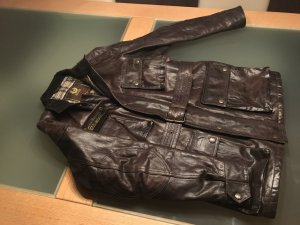 Belstaff Leather Jacket black brown