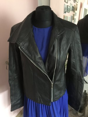 Amaryllis Biker Jacket black-silver-colored