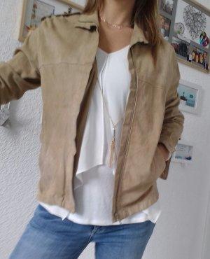 Leder Jacke original aus den 70er