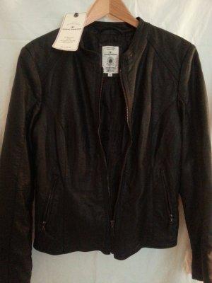 Leder Jacke von Tom Tailor Gr. 40
