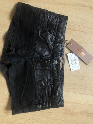 Pull & Bear Hot pants zwart