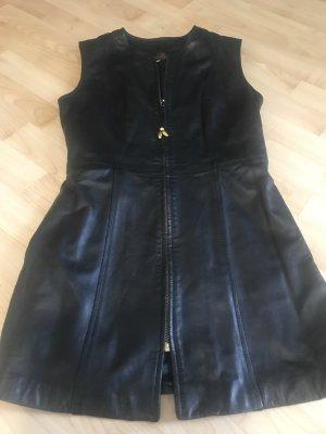 Leather Dress black
