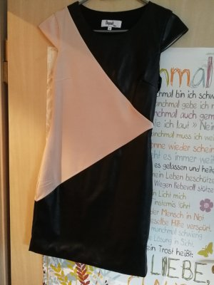 Leren jurk zwart-room Leer