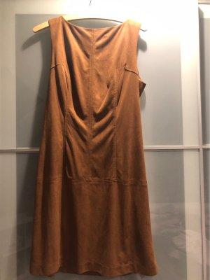 Orsay Leren jurk cognac