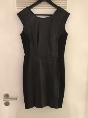 H&M Leather Dress black
