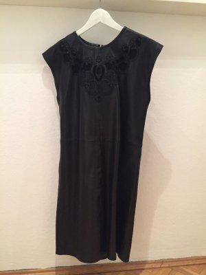 Set Leren jurk zwart