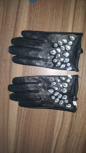 Leder Lederhandschuhe Handschuhe Größe L