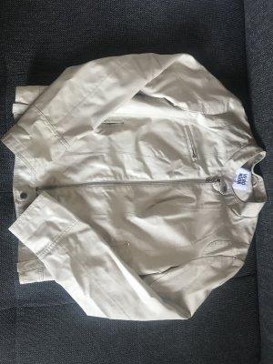 Vero Moda Faux Leather Jacket cream-oatmeal
