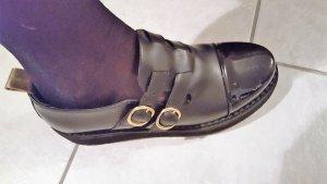 leder loafers von Leqarant in grosse 38