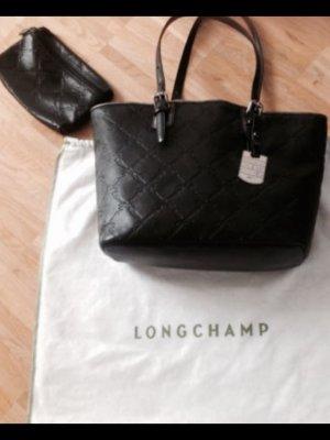 Leder Longchamp Luxus Tasche