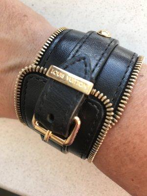 Louis Vuitton Bijoux de bras doré-noir