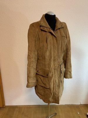 Leather Coat camel
