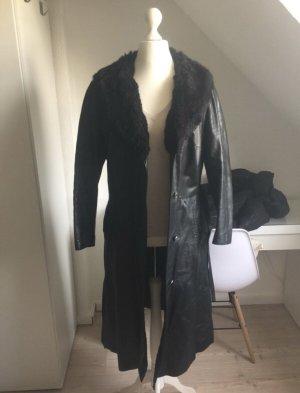 Leder Mantel echt Leder