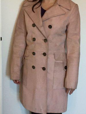 Leder Mantel rosé Gr.38