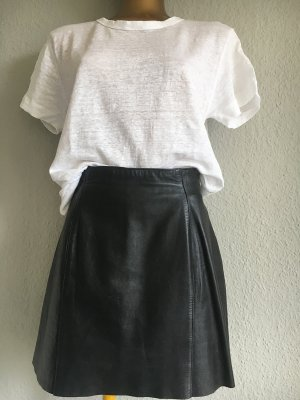 Leather Skirt black