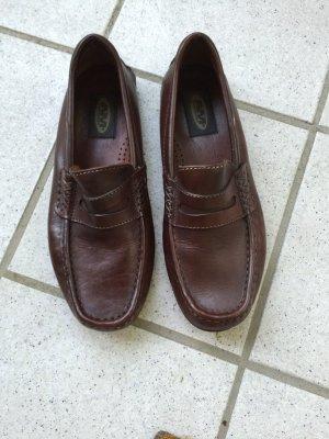 Leder Mokassin,braun, Gr. 40 von AM Shoe Company