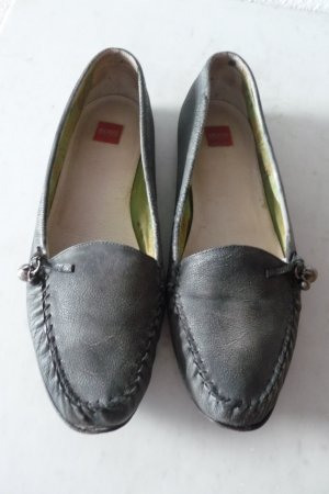 Leder Mokassins/ Ballerina/Loafer