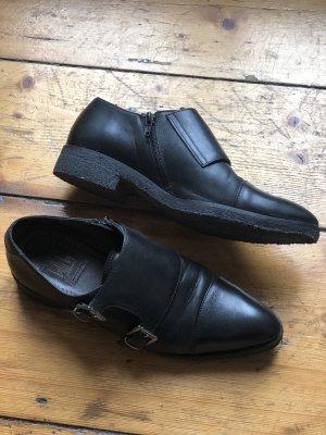 Billi Bi Slip-on Shoes black leather