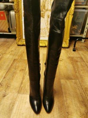 Public Desire Cuissarde noir cuir