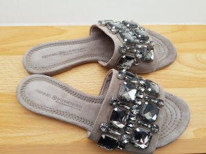Kennel und Schmenger Sandalo con tacco grigio