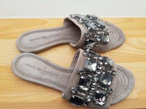 Kennel und Schmenger Heel Pantolettes grey