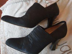 Leone Chaussure à talons carrés noir