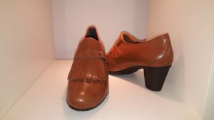 Loafers cognac-coloured-brown