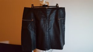 Atmosphere Leather Skirt black