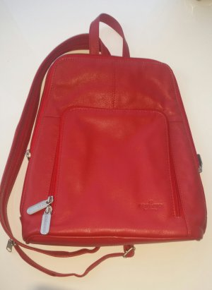 Bear Backpack red-brick red