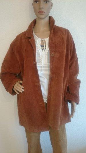 LEDER-SALE!!! Schöne Wildleder-Jacke oversized 40/42 Vintage