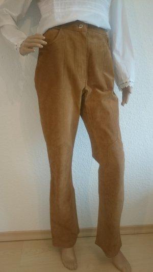 LEDER-SALE!!! Tolle High-Waist-Lederhose Echtes Wildleder Vintage