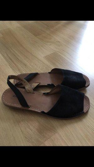 Akira Sandalo con cinturino nero-marrone chiaro