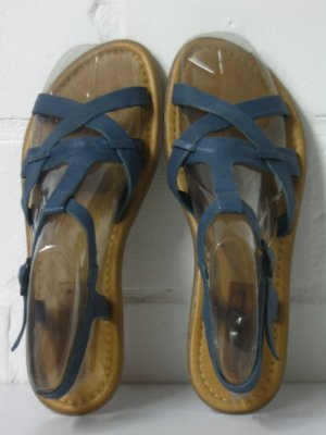 Leder-Sandalen, neuwertig