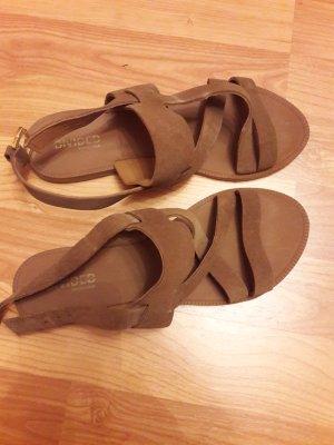 Leder Sandalen Größe 38