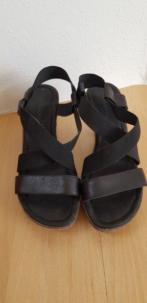 Tamaris Platform High-Heeled Sandal black