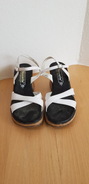 Tamaris Wedge Sandals white