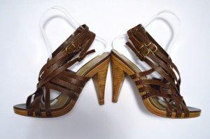 Leder Sandaletten Gr. 40 H&M Neu