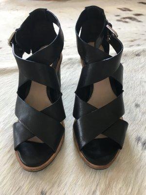 Leder-Sandaletten von Clarks