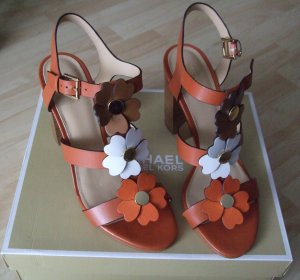 Leder Sandaletten von Michael Kors  - Gr. 40