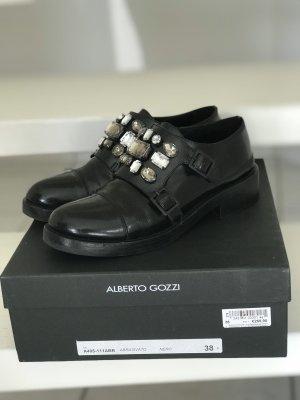 timeless design 82ff7 f60ee Alberto Gozzi Scarpa slip-on nero
