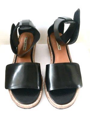 Leder Schuhe Absatz 4cm Other Stories