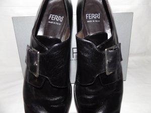 """Leder Schuhe Marke """"Ferri"""", Modell LONDON in 41. Made in Italy."""