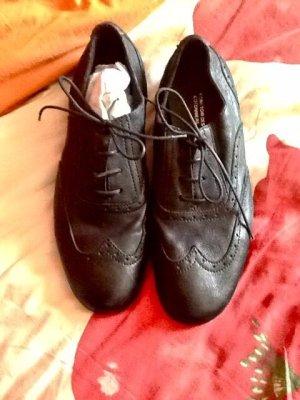 Leder Schuhe von Comptoir des Cotonniers Derbys flache Schuhe